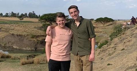 AMS-leerlingen Randy en Idsert terug van Edukans-reis naar Ethiopië